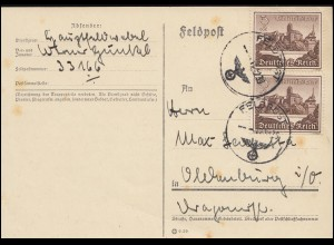 Privatpostkarte PP 8/97 Ulbricht 10 interartes Volksschaffen SSt Berlin 4.10.72