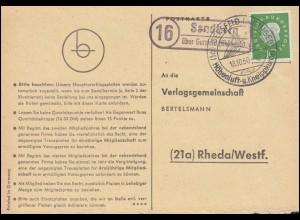 9. Deutscher Kinderdorf Sonderballonflug Ansichtskarte SSt WAHLWIES 21.10.70