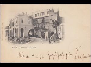 SMS Charlotte MSP 16 L´Amiraute ALGER 6.2.1899 - STRASSBURG 9.2.1899