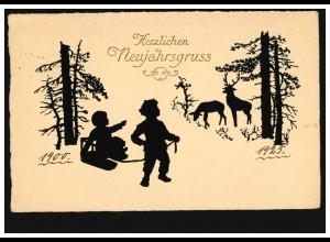 Feldpost AK Wir brauchen Bücher - Spendet Geld! KRIEGSLAZARETT LABRY 5.11.1917
