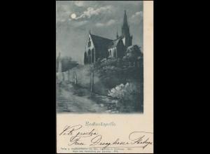 Ansichtskarte Rochuskapelle 13.7.1901 nach HAARLEM 14.7.01