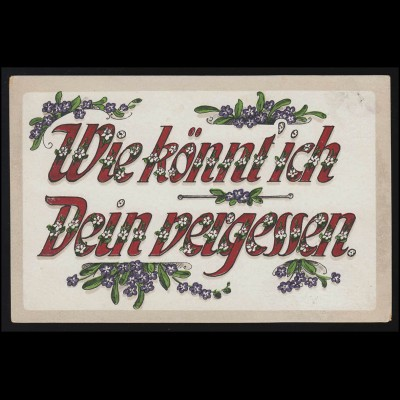 Luftpost Gedächtnisflug Postabwurf Freudenstadt 17.12.1958 OTTWEILER 8.12.58