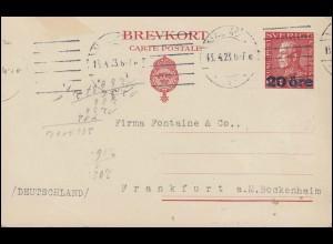 Mischfrankatur mit 4 Werten Eil-Paketkarte GELNHAUSEN 14.7.71 nach Freiburg