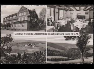 Ansichtskarte Gasthof Mörchen, Altastenberg (Hochsauerland), NORDENAU um 1960
