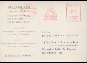 664 Geburtstag 1938 EF Blanko-Karte SSt MÜNCHEN Geburtstag des Führers 20.4.38