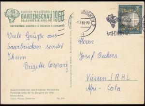 174-175 Deutscher Bundestag auf Schmuck-Brief BERLIN-CHARLOTTENBURG 16.10.57