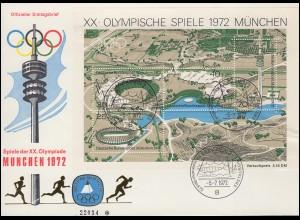 Landpost Herdringen über ARNSBERG (WESTF.) LAND 9.8.1935 auf AK Berlin