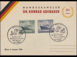 AM-Post 1+3 + 2x10 Pf Paar, MiF Brief Dentist Teeuwen BIRGDEN 21.6.46 nach Bonn