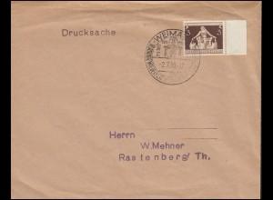 617 Gemeindekongress als EF auf Drucksache SSt WEIMAR Reichsparteitag 2.7.36