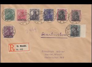 Rohrpost-Umschlag RU 3 BERLIN N.W. 66 - 20.12.94 n. SCHÖNEBERG bei BERLIN 20.12.