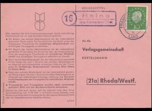 Zusammendruck W157 + W156 + W157 3er-Streifen Brief BERLIN-CHARLOTTENBURG 7.5.42