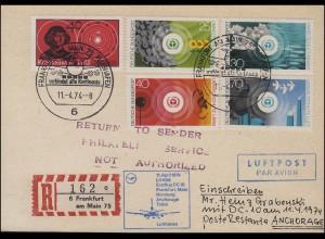"""Sudetenland 1938: Drucksache Einzeiler """"DUPPAU / 10. XI. 1938"""" nach Berlin"""