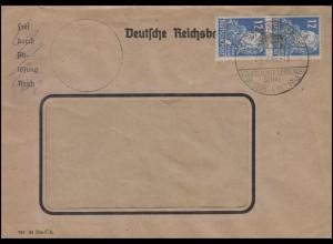 216 Friedrich Engels MeF Brief SSt EBERSBACH / SACHSEN Leistungsschau 20.9.49