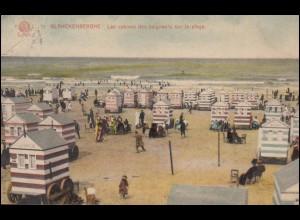 Kriegsgefangenensendung Geprüft F.a.1. Postüberwachung, LES PONTS MARTEL 3.9.17