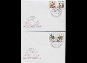 Postkarte P 1 Adler in Ellipse 1/2 Groschen Rahmenstempel HERDECKE 15.8.73