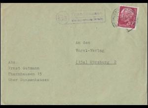Bestell-Postkarte Paul Kogel Bienenhonige EF 6 Pf. BERLIN 7.10.37 nach Lokstedt