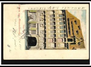 241 Bergarbeiter auf Maximumkarte Albert Leo Schlageter DUISBURG 14.7.1926
