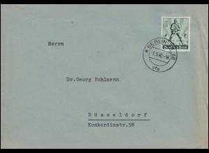 745 Tag der Arbeit 1. Mai auf Brief BERLIN SW 68 - 1.5.40 - seltene Datierung!