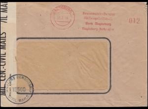 Reichsdienstsache per Einschreiben BERLIN-REICHSTAG NW - 8.1.1930 nach Berlin W9