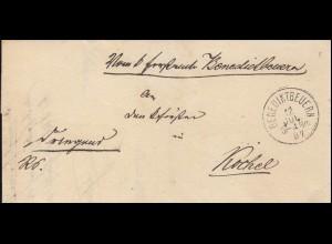 Farb-AK Der Deutsche Kronprinz & Besuch kaiser Franz Joseph I., BERLIN 14.6.00