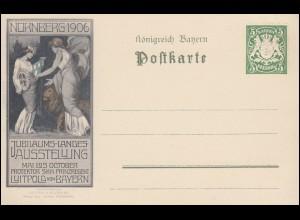 Bayern PP 15 Jubiläums-Landes-Ausstellung Nürnberg 1906, postfrisch **