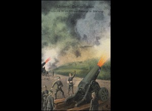 Feldpost S.B. 5. Batterie Feld-Artillerie-Regiment 237 auf AK 32-cm-Mörser