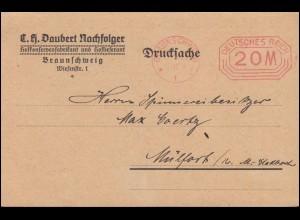 762 Tag der Briefmarke Postillion Blanko-FDC MÖMBRIS über ASCHAFFENBURG 12.1.41