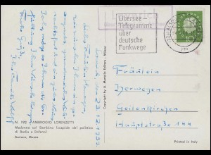 DEUTSCHE MARINE-SCHIFFSPOST No 10 - 14.3.1904 auf Feldpost-AK nach KASSEL 4.4.04