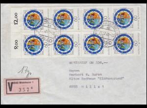 DEUTSCHE MARINE-SCHIFFSPOST No 87 - SMS Großer Kurfürst von Hindenburg-AK