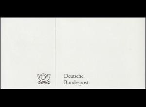 Ministerkarte MiKa Tag der Briefmarke BONN 13.10.1983 mit Neujahrsgrüße für 1984