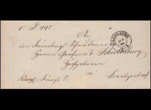Firmenlochung RL auf Ebert und Hindenburg MiF auf Brief LIMBACH/SACHSEN 9.2.32