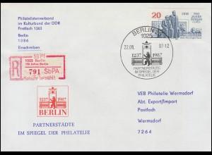 Landpost Wöllstein über AALEN (WÜRTT.) 5.7.34 auf AK Ludwig Richter Feierabend