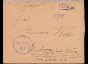 Luftpost Dänemark 143-145 Luftpostausgabe mit Zufr. R-Brief KOPENHAGEN 6.7.26