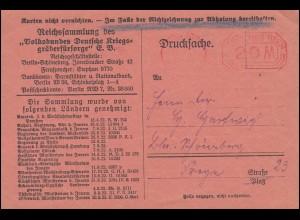AFS BERLIN-WILMERSDORF 20 M - 28.3.23 auf Drucksache Kriegsgräberfürsorge e.V.