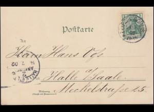 Kriegsgefangenenpost Feldpost-Nummer L 63417 auf Postkarte STUTTGART 21.5.49