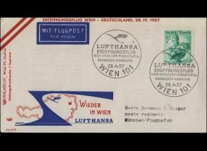 210 Schiller + 215 Ausstellung + 215 Vertreibung MiF R-Brief EHMEN 30.8.1955