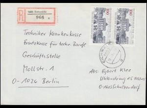 USA Umschlag Präsident 1 Cents blau RICHMONT VA 7.11.1885 nach Dresden