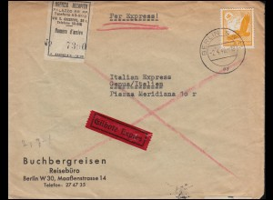 Zensur Oberkommando der Wehrmacht Eil-Brief mit 536 Steinadler BERLIN 2.4.1940