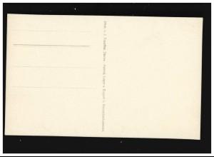 Postkarte P 50I WIESBADEN 30.1.02 mit holländischem Aufkleber Zahlungsanweisung