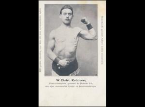 Foto-AK Weltmeister W. Christ. Robinson - genannt Deutsche Eiche, ungebraucht