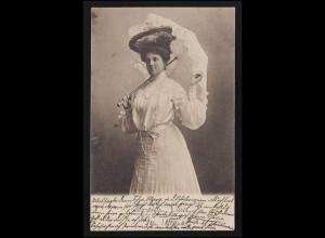 Sonder-Postkarte Großer Preis von Deutschland SSt NÜRBURGRING ADENAU 27.7.1951
