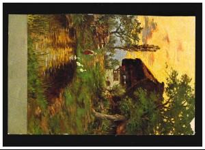 Künstler-Ansichtskarte Anders Zorn: I varmbadstugan, ungebraucht