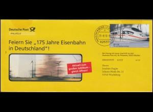 Marineschiffspost 56 a 4.7.1986: Schulschiff DEUTSCHLAND in New York Brief MiF