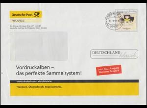 Block 20 Demokratie: Gebäude 1986: Schmuck-FDC Museum Koenig ESSt Bonn 20.6.1986