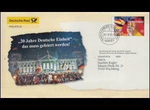 855 IuT 5x 120 Pf. Chemieanlagen MeF Eil-Bf. SCHWALBACH / SAAR 9.10.89 nach Köln