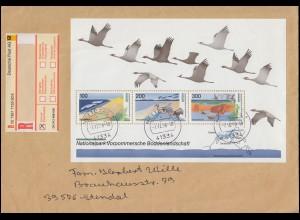 Block 36 Boddenlandschaft 1996 als EF auf EE NETTETAL 7.12.1998