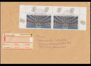 1983 Opernhaus Bayreuth 1998 als OR-Paar in MeF auf EE NETTETAL 17.8.98