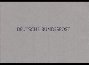 Ministerkarte Bund Block 3 Widerstand 20. Juli 1944, Typ IIIBl., postfrisch **
