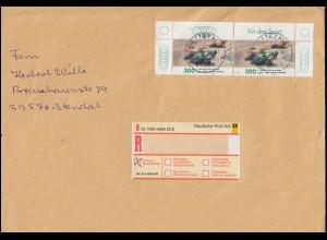 2034 Sporthilfe Motorradrennsport als OR-Paar in MeF auf EE NETTETAL 2.3.1999