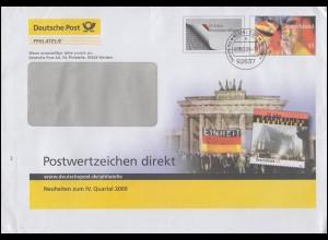 1065 Kleinbogen FIP-Kongreß 1980 auf Schmuck-FDC ESSt ESSEN Postreiter 13.11.80